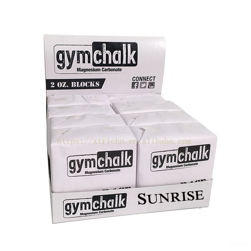 Sport Gym Chalk Block Climbing Weight Lifting Anti Slip Magnesium Carbonate